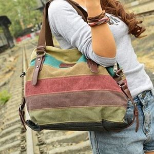 Valencia Canvas Shoulder Bag